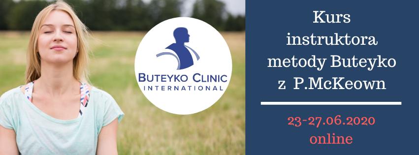 Kurs instruktora metody Butejki(Buteyko) online lipiec 2020