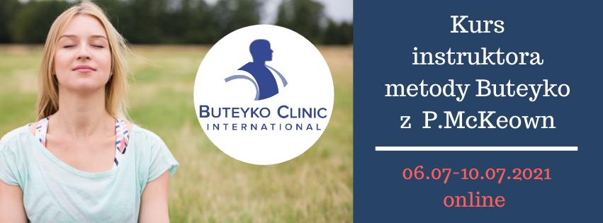 Kurs instruktora metody Butejki (Buteyko) 07.2021